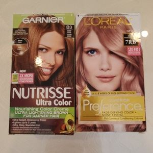 GARNIER+L'OREAL 2 PACK HAIR COLOR